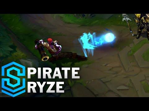 Pirate Ryze (2016) Skin Spotlight - League of Legends