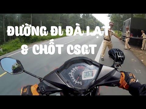 Hướng dẫn đi Đà Lạt - Chốt CSGT bắn tốc độ - VLOG PHƯỢT #8   MinC Motovlog
