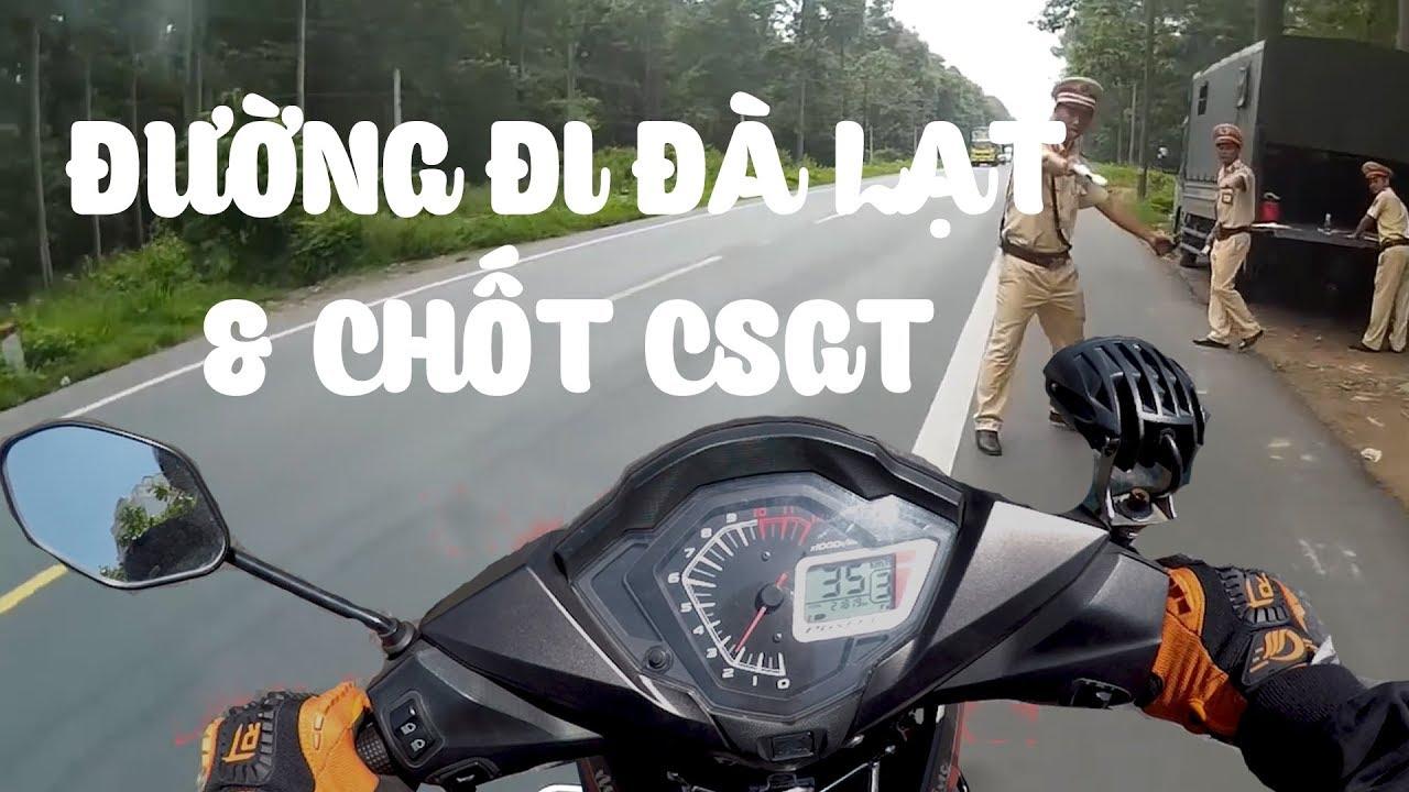 Hướng dẫn đi Đà Lạt – Chốt CSGT bắn tốc độ – VLOG PHƯỢT #8 | MinC Motovlog
