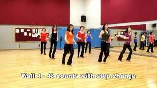 Party Freaks & Alcohol - Line Dance (Dance & Teach in English & 中文)