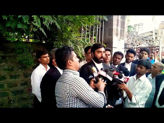 Adv Tosif Shaikh in Bhima Koregaon Roit Case Pune regarding arrest of Elgar Parishad organiser.
