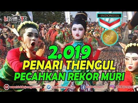 LIVE: 2.019 PENARI THENGUL PECAHKAN REKOR MURI