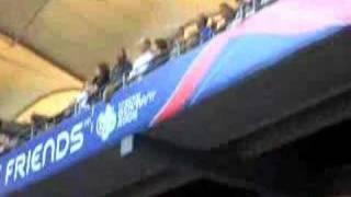 Jogo da Copa do Mundo na Alemanha 2006. Itália X Ucrânia