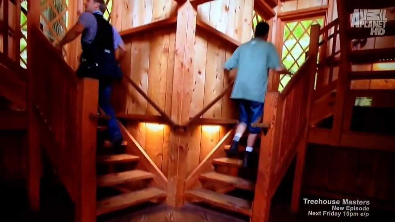 treehouse masters spa. Tree House Masters Season 2 Ep 1 Longwood Gardens Treehouse Spa