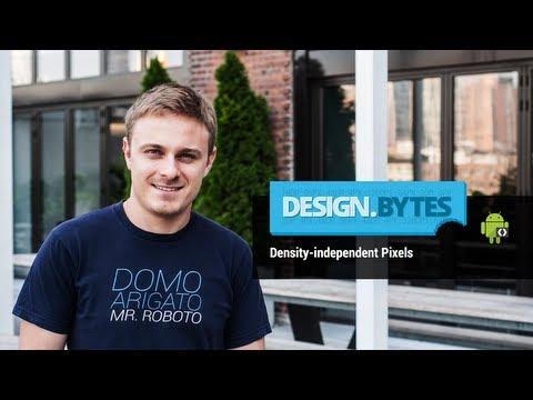 DesignBytes: Density-independent Pixels