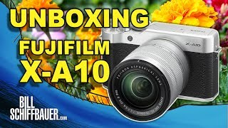 Unboxing and Getting Started - Fujifilm X-A10 XC 16-50mm