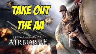TAKE OUT THE AA! - Medal of Honor Airborne - Episode 2