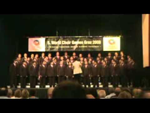 North Sulawesi GMIM Male choir - Son Ah Will Be Down.mp4