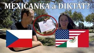 Mexičanka PÍŠE ČESKY a SLOVENSKY! A odpovídá na VAŠE OTÁZKY!