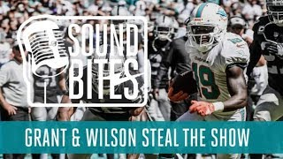 Talking 3-0 with Albert Wilson, Jakeem Grant, Coach Gase and more | Miami Dolphins thumbnail
