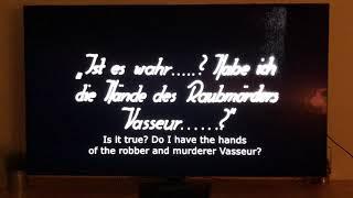 The Hands of Orlac (1924) Orlac Learns The Truth - Conrad Veidt.
