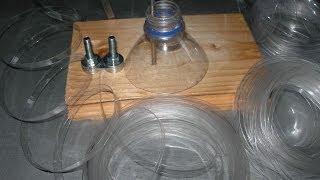 як зробити верстат для різання пластикових пляшок