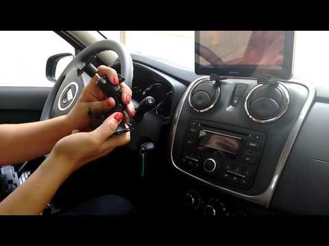 Стойка за таблет за автомобил с вакуум за прозореца