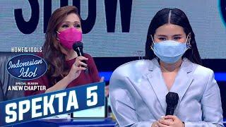 """Download Luar Biasa ! Penampilan Melisa Memukau """"Seberapa Pantas""""  - Spekta Show TOP 9 - Indonesian Idol 2021"""