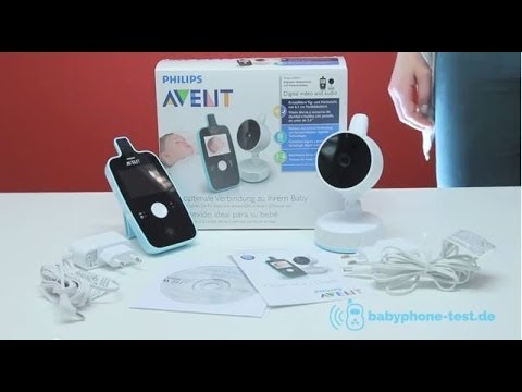 philips avent scd 603 babyphone im praxistest philips. Black Bedroom Furniture Sets. Home Design Ideas