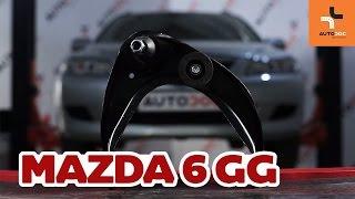 unten vorne/hinten Querlenker beim MAZDA 6 Station Wagon (GY) montieren: kostenlose Video