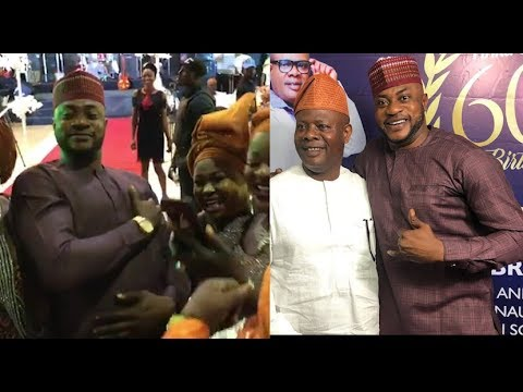 Download Handsome Man! See How Beautiful Ladies Surround Odunlade Adekola At Yinka Quadri 60th birthday party