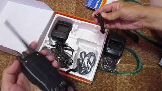 розпакування рацій baofeng