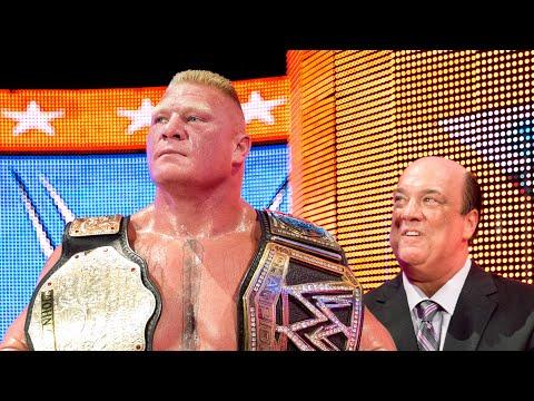 Every Brock Lesnar SummerSlam match, ever: WWE Playlist