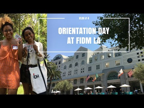 Orientation Day at FIDM LA