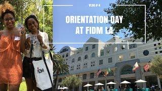 Orientation Day at FIDM LA