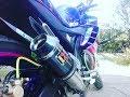 Knalpot Racing Akrapovic GP Lorenzo Carbon Mirip Suara Ninja di Yamaha R15 MOVISTAR