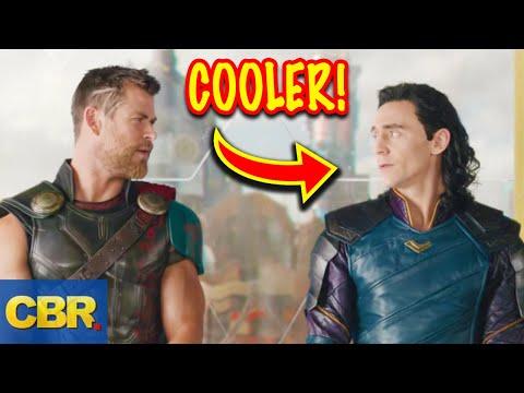 10 Times Marvel's Loki Was Cooler Than Big Bro Thor