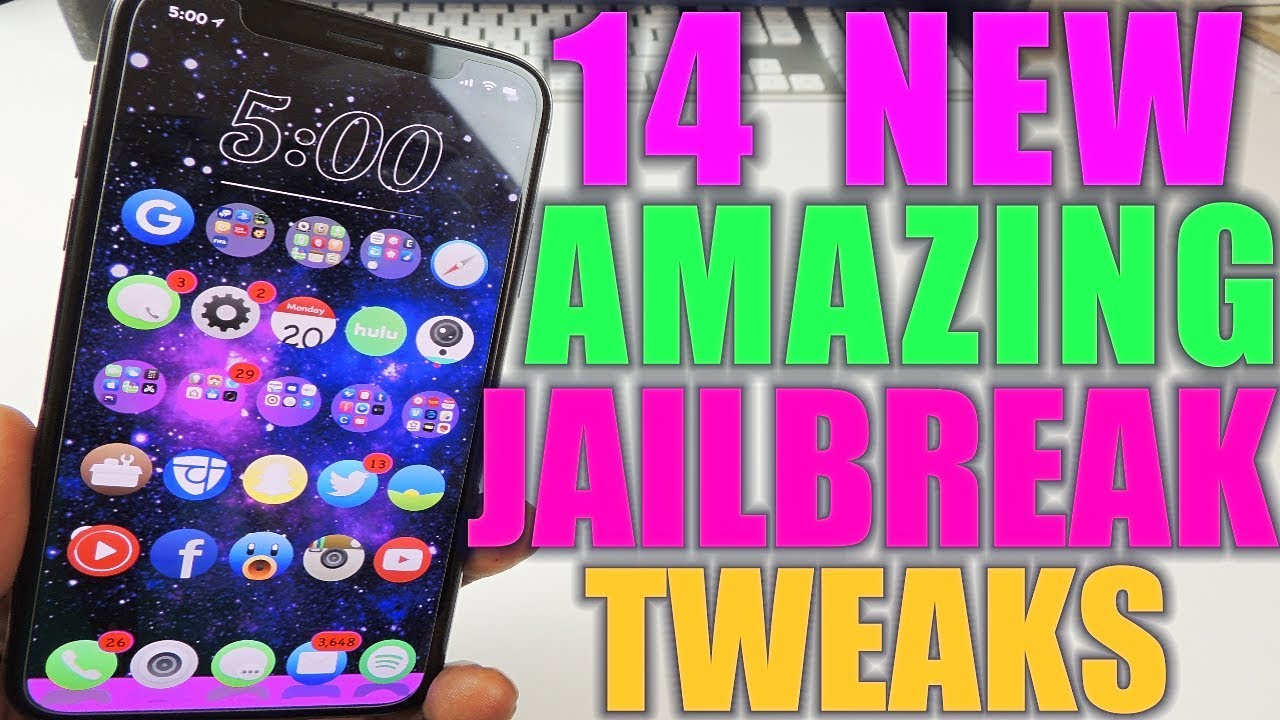 14 New Amazing Tweaks iOS 11 2 - 11 4 - Watch 14 New Amazing