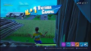 VICTORY WITH FOOTBALLER'S SKIN IN FORTNITE