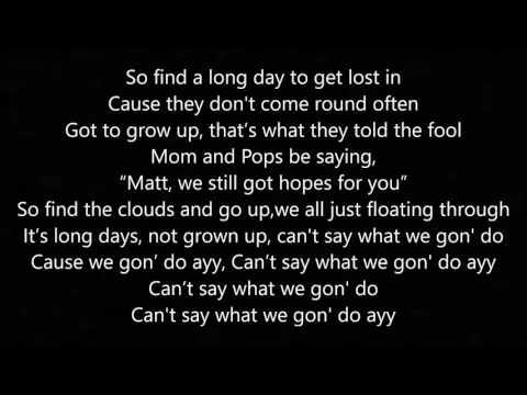 Long Days - By: Matt Burton (Lyrics)