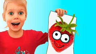 Color Fruits Song Vitalina Pretend Play Sing Along Nursery Rhymes & Kids Songs