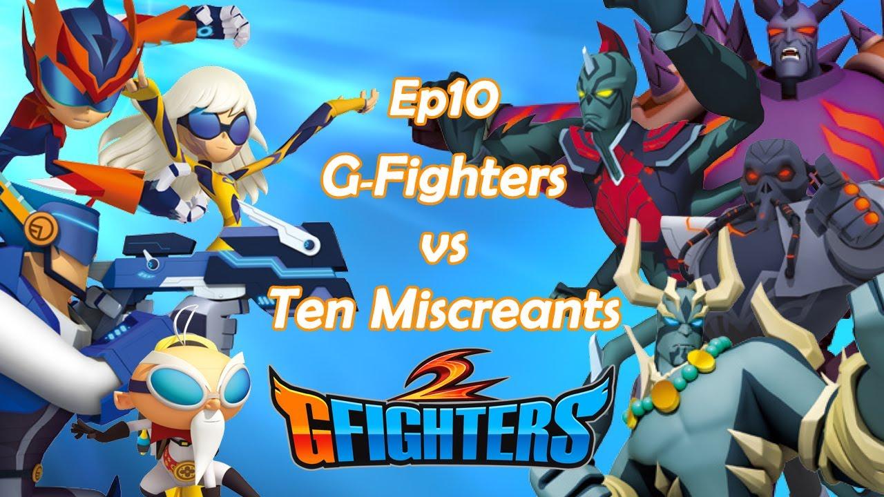 Download G-Fighters 2   10th G-Fighters vs Ten Miscreants   Super Hero Series