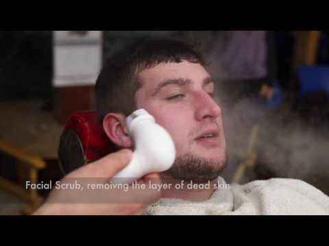 Facial and Beard Wash with Facial Steamer
