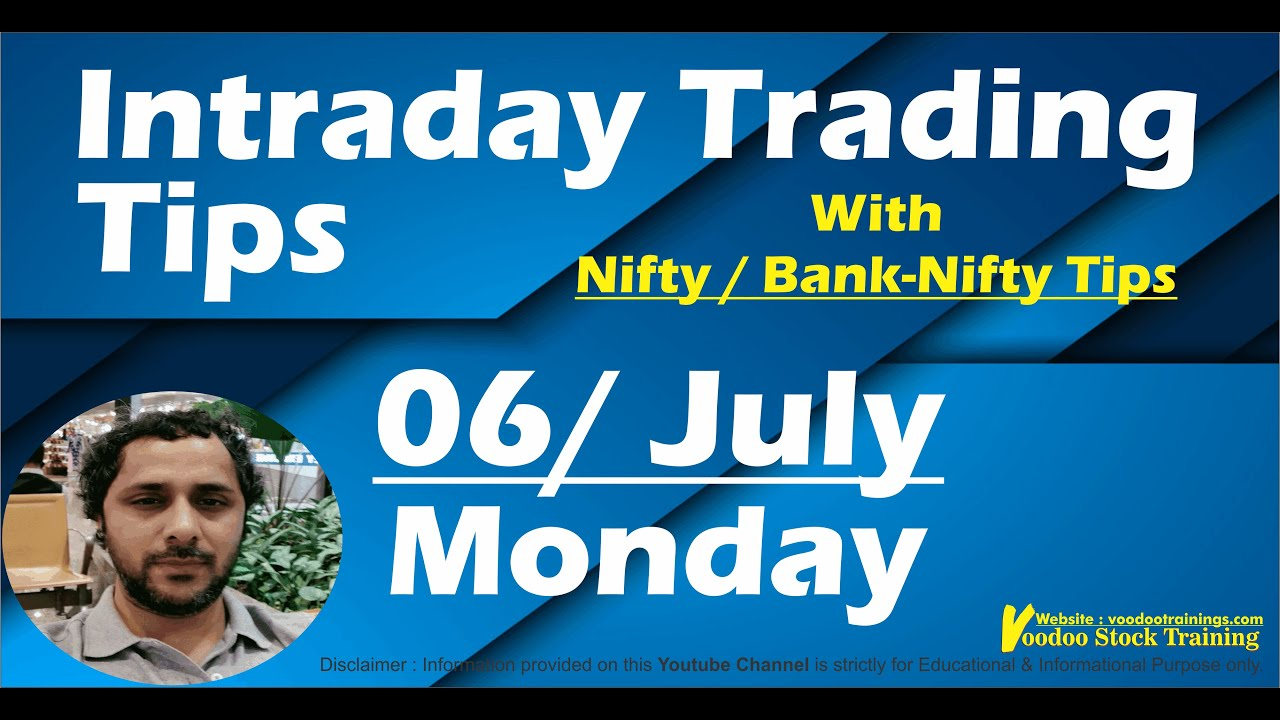 Best Intraday Stocks for 06 July | Free Intraday Live Trading Tips | Nifty & Bank Nifty Tips