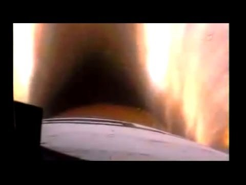 Dashcam on a Space Shuttle - FRONT WINDOW launch