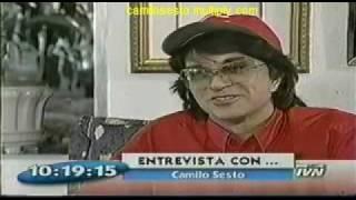 Camilo Sesto - Entrevista en su hogar po...