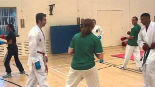P4K Seminar with Haldun Alagaş seen here working with Kamran Ali and Kerry Gunn