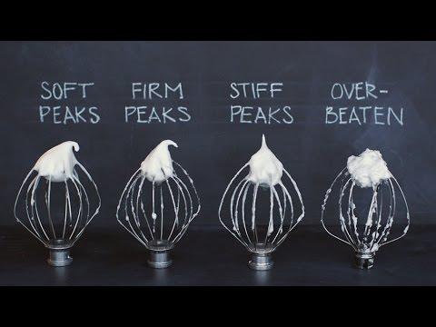 Image result for meringue is forming stiff peaks
