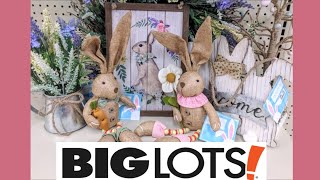 Big Lots EASTER Decor Shop with Me!