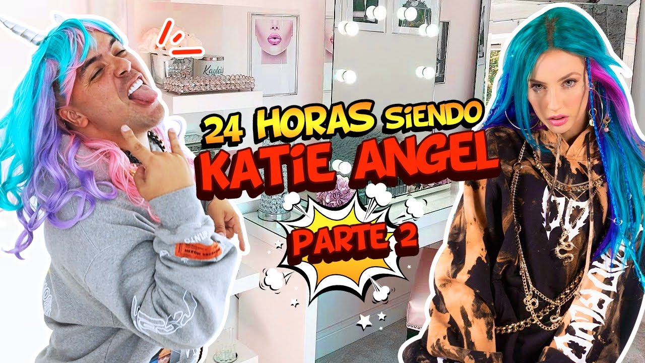24 HORAS SIENDO MI NOVIA KATIE ANGEL 💁🏼♀️👑 Parte 2 🙈| OSO 🐻