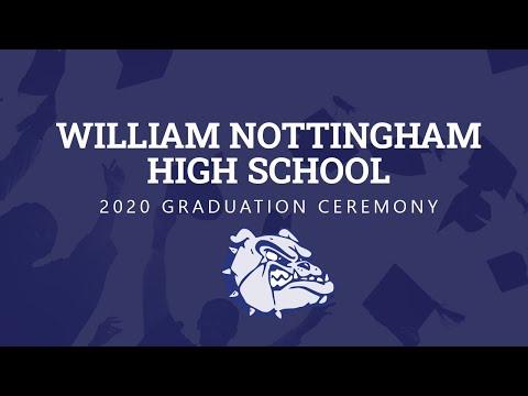 Nottingham High School 2020 Virtual Graduation Ceremony