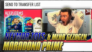 OMG!! NEYMAR TOTS & MARADONA PRIME IN EUREN WEEKEND LEAGUE REWARDS 😍😍 FUT CHAMPIONS PACK OPENING
