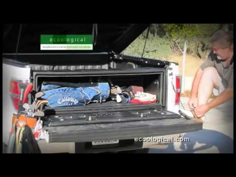 Improve Truck Cargo Access With The Aerobox Large Capacity Truck Box Youtube