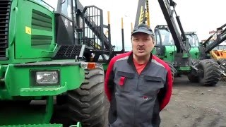 видео лесозаготовительная техника амкодор