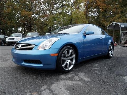 Short Takes 2003 Infiniti G35 Coupe Start Up Exhaust Tour
