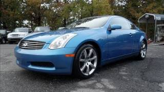 Short Takes: 2003 Infiniti G35 Coupe (Start Up, Exhaust, Tour)