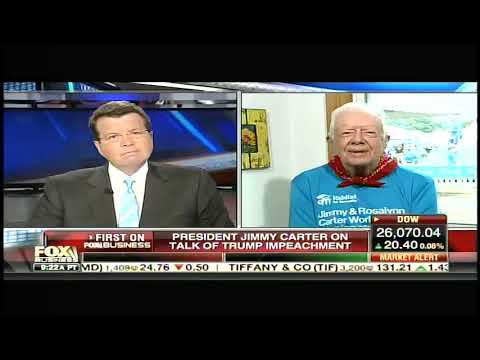 Jimmy Carter Warns Democrats Against Impeaching Trump