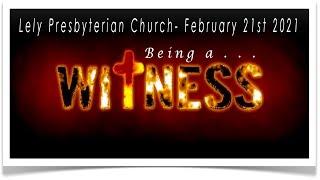 Lely Church Service  - 02-21-2021