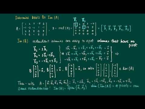 Math 2.9.7: Example dimension ker(A)