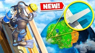 *NEW* IMPOSSIBLE LANDING CHALLENGE Gamemode in Fortnite Battle Royale!